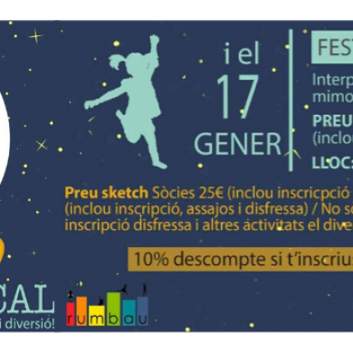 Vine a la Festa Sketch Talent Show!